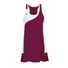 DUC Control Women's Tennis Dress (Maroon) - Women's Tennis Apparel