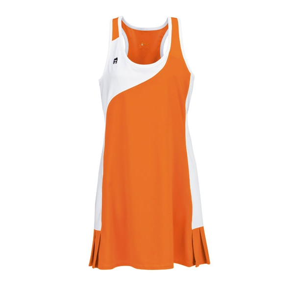DUC Control Women's Tennis Dress (Orange)