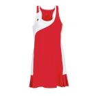 DUC Control Women's Dress (Red) - Women's Dresses Tennis Apparel