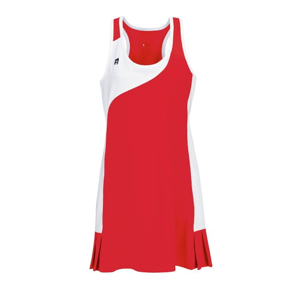 DUC Control Women's Tennis Dress (Red)