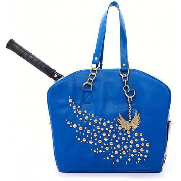 Cortglia Tennis Bag by Marion Bartoli (Blue Crown)