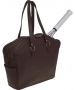 Cortiglia Belvedere Marrone Tote (Brown) - Cortiglia The Belvedere Tennis Bags