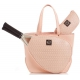 Court Couture Savanna Perforated Cotton Candy - Designer Tennis Bags