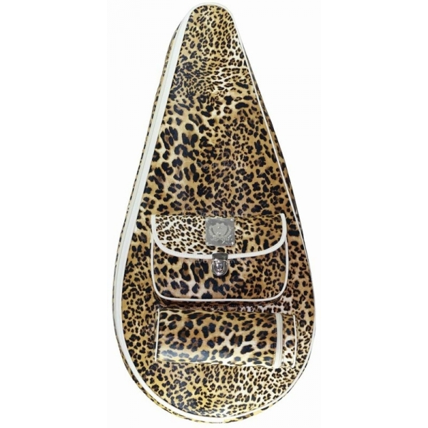 Court Couture Barcelona Tennis Bag (Leopard)