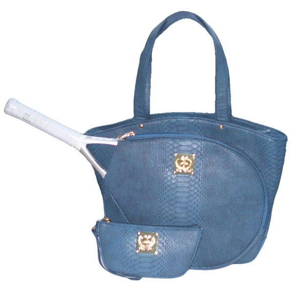 Court Couture Cassanova Tennis Bag (Blue Azure)