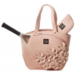 Court Couture Cassanova Tennis Bag Dusty Rose