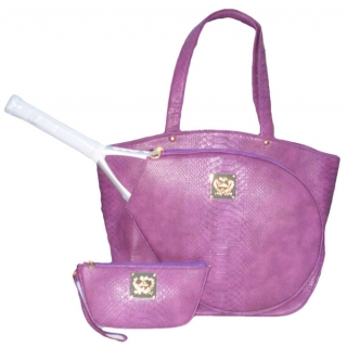 Court Couture Cassanova Tennis Bag (Orchid)