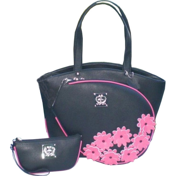 Court Couture Cassanova Tennis Bag (Pink Daisy)