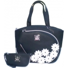 Court Couture Cassanova  Bag (White Daisy) - Court Couture Tennis Bags