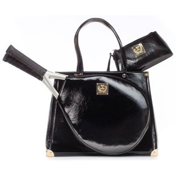 Court Couture Karisa Noir Tennis Bag