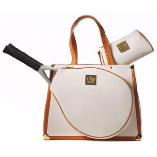 Court Couture Karisa White Pebble  Bag