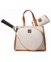 Court Couture Karisa White Pebble  Bag - Court Couture Tennis Bags