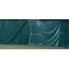 Courtmaster Backdrop for Indoor Courts w. Lead Rope #801wr - Tennis Court Equipment