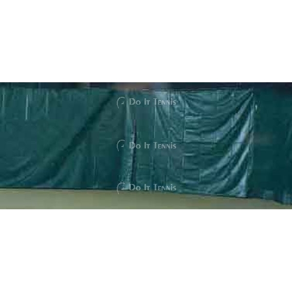 Courtmaster Backdrop for Indoor Courts w. Lead Rope #801wr