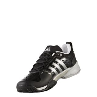 pretty nice 61b80 5c084 Adidas Men s Barricade Classic Bounce Wide 4E (Black Silver)