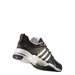 hot sale online f2e14 b1447 Adidas Mens Barricade Classic Bounce Wide 4E (BlackSilver)