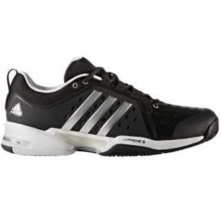 239705d76f03 Adidas Men s Barricade Classic Bounce Wide 4E (Black Silver) - Do It ...