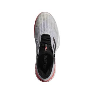 best sneakers 48d2e 4b5a7 Adidas Mens adizero Ubersonic 3 Tennis Shoes (Matte SilverBlackFlash Red)