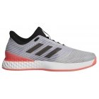 Adidas Men's adizero Ubersonic 3 Tennis Shoes (Matte Silver/Black/Flash Red) - Adidas Shoe Sale. Save on New Shoes for the Family