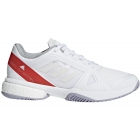 Adidas Women's aSMC Barricade Boost Tennis Shoe (White/Dark Callistos/Pearl Grey) - Adidas