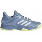 Adidas Junior Adizero Club Tennis Shoes (Chalk Blue) - Adidas Junior Tennis Shoes