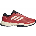 Adidas Barricade Club xJ Junior Tennis Shoe (Night Navy/Ecru Tint/Trace Scarlet) - Adidas Junior Tennis Shoes