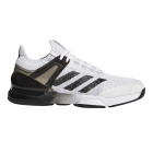 Adidas Men's Adizero Ubersonic 2 Tennis Shoe (White/Core Black/Grey - Adidas