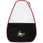 40 Love Courture Crisp White Betsy Tennis Backpack - 40 Love Courture Betsy Medium Tennis Bags