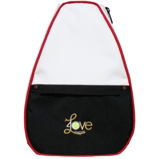 40 Love Courture Crisp White Betsy Tennis Backpack