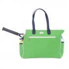 Ame & Lulu Green Navy Tennis Court Bag - SALE: Ame & Lulu Tennis Bags for Women