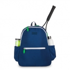 Ame & Lulu Courtside Tennis Backpack (Navy/Green) - Women's Tennis Bags