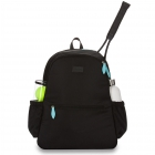 Ame & Lulu Courtside Tennis Backpack 2.0 (Black) -