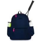 Ame & Lulu Courtside Tennis Backpack 2.0 (Navy) -