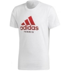 Adidas Men's Category Tennis Tee Shirt (White) - Brands
