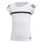 Adidas Girls' Club Tennis Tee (White) - Junior Equipment Brands