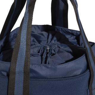 659fb5440d69 Adidas by Stella McCartney Tennis Bag (Collegiate Navy Aero Lime Black)