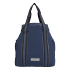 Adidas by Stella McCartney Tennis Bag (Collegiate Navy/Aero Lime/Black) - Adidas