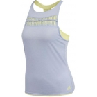 Adidas Women's Melbourne Tennis Tank (Chalk Blue/Semi Frozen Yellow) - Women's Tank Tops