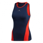Adidas Women's By Stella McCartney Barricade Tennis Tank (Night Indigo/Core Red) - Adidas Women's Tennis Shirts - Tops and Tanks