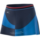 Adidas Women's by Stella McCartney Barricade Tennis Skirt (Night Indigo/Ray Red) - Women's Skirts