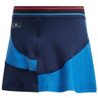 Adidas by Stella McCartney Girls' Barricade Tennis Skirt (Night Indigo) - Adidas Junior Tennis