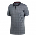 Adidas Men's Barricade Tennis Polo (Black) - Men's Polo Shirts