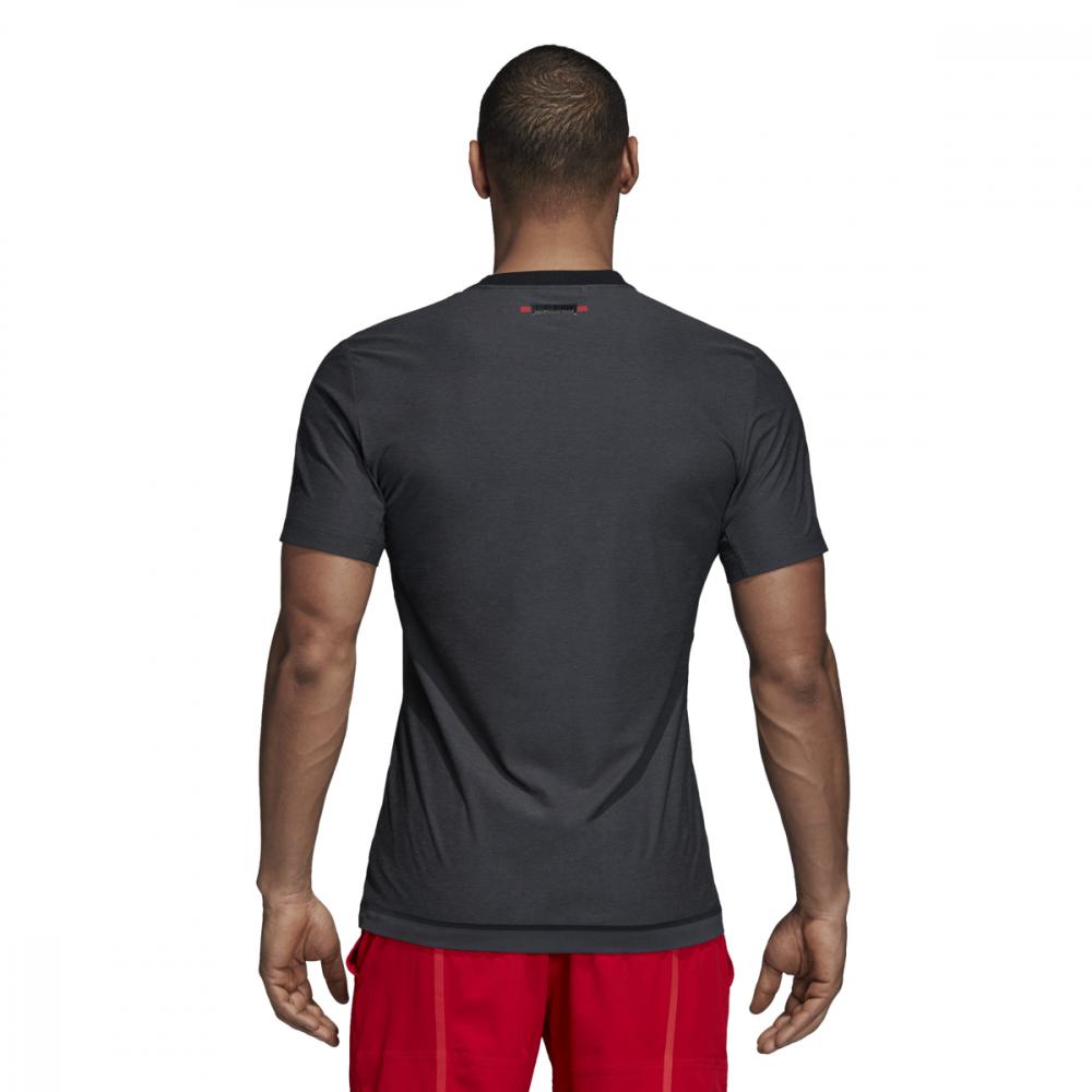 Adidas Men's Barricade Tennis Tee (Black)