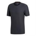 Adidas Men's Barricade Tennis Tee (Black) - Adidas Men's Tennis Apparel