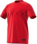 Adidas Boys' Barricade Tennis Tee (Scarlet/Black) - Clearance Sale! Discount Prices on Kids' Tennis Gear