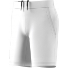 Adidas Boys' Barricade Tennis Shorts (White/Black) - Boy's Bottoms