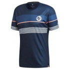 adidas Men's RG Climacool Tennis Tee (Collegiate Navy) - Men's Tennis Apparel