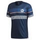 adidas Men's RG Climacool Tennis Tee (Collegiate Navy) - New Style Tennis Apparel
