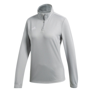 Adidas Women's Adidas Core Tennis Training 1/2 Zip Long Sleeve Top (Stone/White)