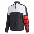 Adidas Men's Club Tennis Jacket (Black) - Adidas Men's Tennis Jackets, Pants and Sweats
